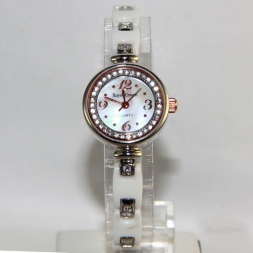 Royal Crown watch Stainless Steel 6401 white