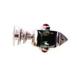 sterling-silver-pendant-smoky-quartz-rubies