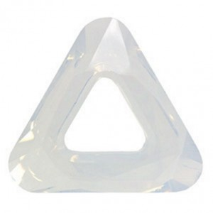 Swarovski Crystal 14mm Cosmic triangle White Opal