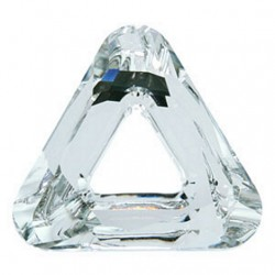 Swarovski Crystal 14mm Cosmic triangle Crystal CAL