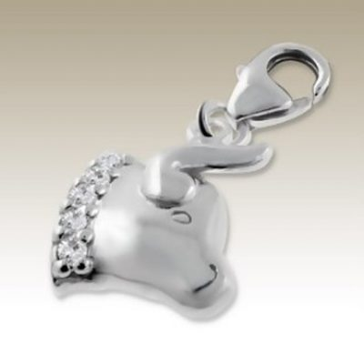 Sterling Silver zodiac sign Taurus clip on charm