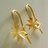 9ct-gold-maltese-cross-earrings-hook-diamond-cut