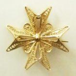 9ct-gold-filigree-maltese-cross-pendant-brooch