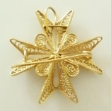 9ct-gold-filigree-maltese-cross-pendant-brooch-pin