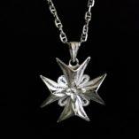 maltese-cross-filigree-pendant-sterling-silver-3d-double-sided