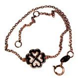9ct-9kt-rose-gold-bracelet-greek-cross-hearts-ALORO