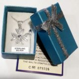 maltese-cross-filigree-bail-pendant-sterling-silver-2cm-light-blue