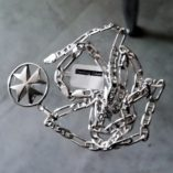 maltese-cross-double-sided-sterling-silver-pendant-23mm