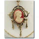 cameo-necklace-Mode-Art-jewelry-New-York-Vintage