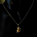 9ct-gold-chain-11-figaro-diamond-cut-italy-koala-pendant