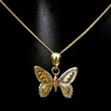 9ct-yellow-white-rose-tri-gold-butterfly-pendant