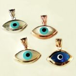 9ct-white-rose-yellow-gold-lucky-evil-eye-pendants