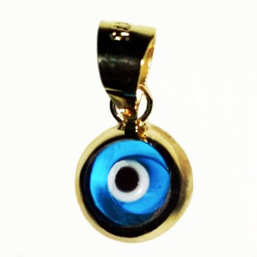 9ct yellow Gold double sided Evil Eye charm