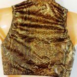 Attitude-gold-top-Zany-leopard-pants-vintage-Australian-made