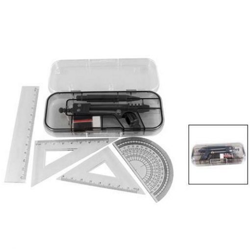 Geometry compass drawing instruments 7 piece set