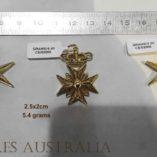 18ct-18kt-gold-filigree-maltese-cross-heraldic-crown-pendant