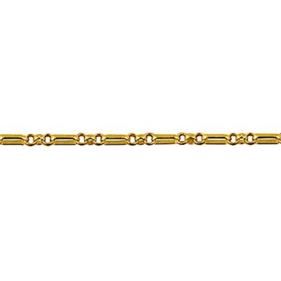9ct Gold chain Figaro 13 Belcher (FB23)