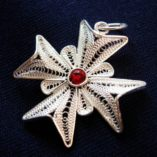 maltese-cross-filigree-pendant-sterling-silver-2-5cm-red