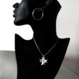 maltese-cross-filigree-pendant-sterling-silver-2-5cm-clear