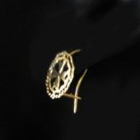 9ct-gold-maltese-cross-earrings-double-circle-diamond-cut-100217