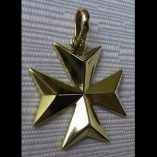 9ct-gold-maltese-cross-pendant-solid
