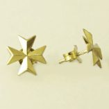 9ct-gold-maltese-cross-earrings-studs-100316