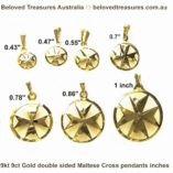 9ct-gold-maltese-cross-double-sided-pendants-inches