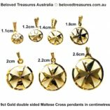 9ct-gold-maltese-cross-double-sided-pendants-centimetres