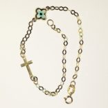 9ct-9kt-gold-bracelet-cross-lucky-eye-Christian