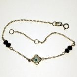 9ct-9kt-gold-bracelet-lucky-eye-black-beads