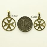 9ct-gold-maltese-cross-diamond-cut-pendants-2.2cm-1.9cm