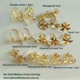 9ct-gold-maltese-cross-earrings