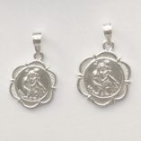 Saint-Christopher-medallion-pendant-sterling-silver-1.5cm-1.8cm