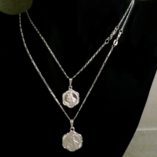 Saint-Christopher-medallion-pendant-sterling-silver-Figaro-chain