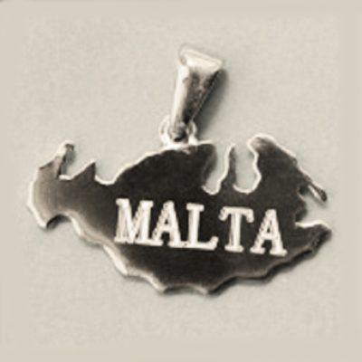 Island Malta pendant Sterling Silver