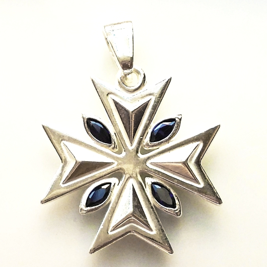 collection necklace pendant insignia maltese product wid sterling hei sharpen jsp prd cross silver op