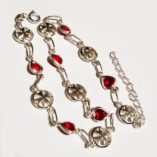 sterling-silver-anklet-double-sided-maltese-cross-red-crystal