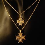 9ct-gold-maltese-cross-pendants-marquis-stones-1-8cm-2-2cm-Italian-chains