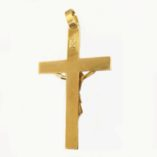 9ct-gold-crucifix-pendant-Italy-5.3cm-back