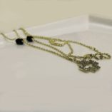 9ct-gold-diamond-cut-necklace-cross-black-beads