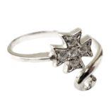 maltese-cross-ring-sterling-silver-adjustable-302199