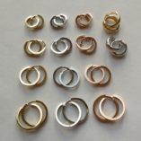 9ct-9kt-gold-huggie-earrings-italy