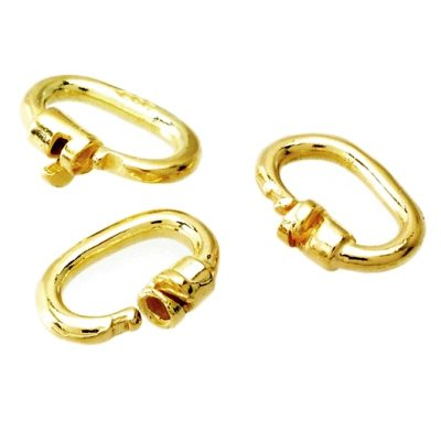 Link locks 9ct Gold