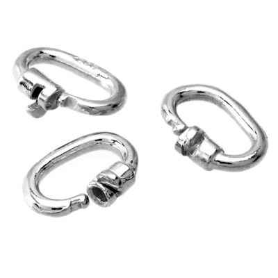 Link locks Sterling Silver