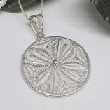 Maltese-Cross-filigree-pendant-sterling-silver-2.4cm
