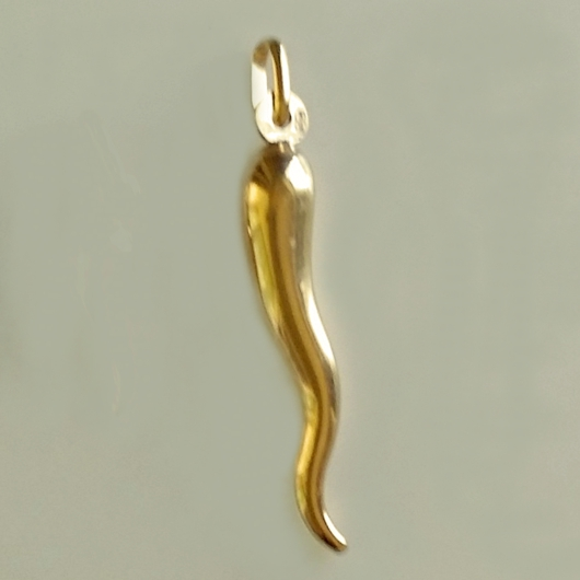 9ct gold horn of plenty pendant italian mozeypictures Images