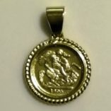 9ct-gold-pendant-1906-St-George-sovereign-coin-image
