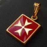 9ct-gold-maltese-cross-pendant-square-Red