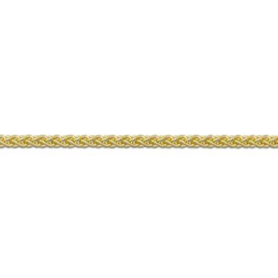 9ct Gold chain Italian Spiga wheat